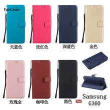 Mới nhất PU Leather Case sFor Hoesjes Samsung G360 Mềm Silicone Trường Hợp điện thoại Dễ Thương PU Leather Trường Hợp Samsung Galaxy G361 Core Prime(China)