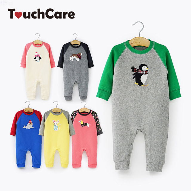 091c08de4bd6 Baby Girl Clothes Newborn Baby Boy Romper Thick Cotton Long Sleeve Baby  Costume Cute Animal Baby Clothing Newborn Jumpsuits