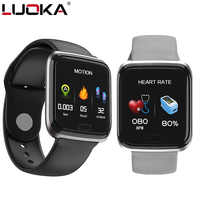 LUOKA CY05 Smart Watch Bracelet Ports Waterproof Fitness Heart Rate Blood Health Monitoring Pressure Health Step Remote Watch