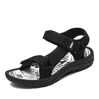 Men Sandals Beach Slippers Lovers Fashion Unisex Men Beach Sandals Breathable Slippers High Quality Summer Mesh Large Size 35-45 Sandals