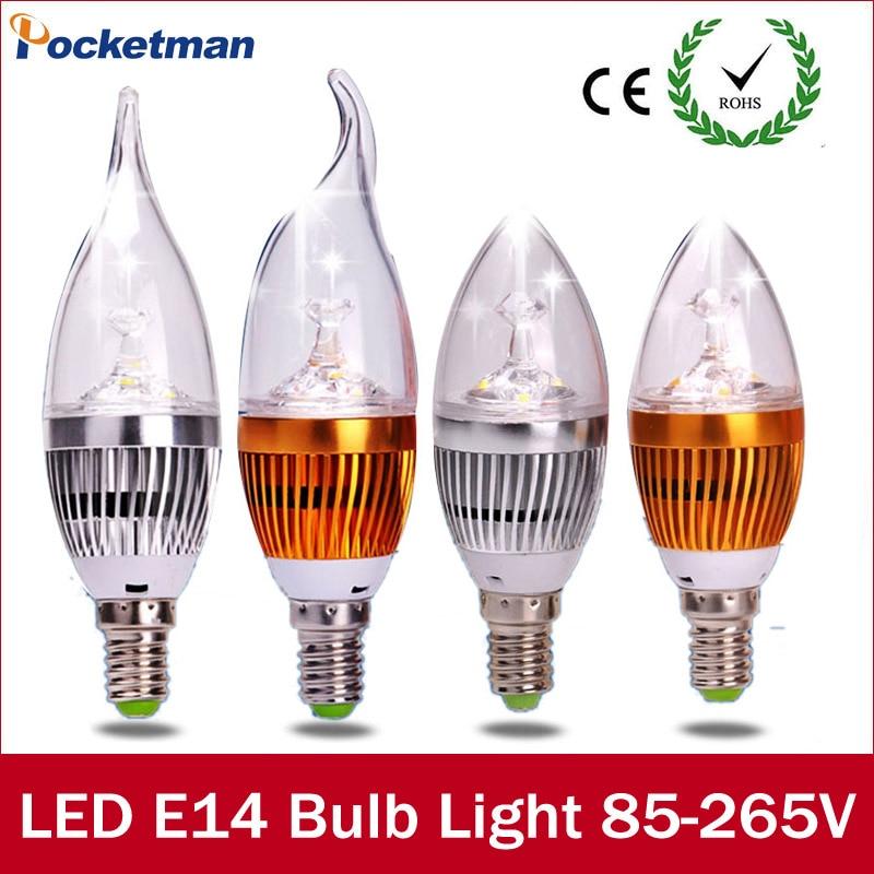 Led Light Bulbs E14 6W Led Candle Light Bulb Lamp AC 220/85-265V Interior Decoration Candle Bulbs Vintage Pendant Lamps