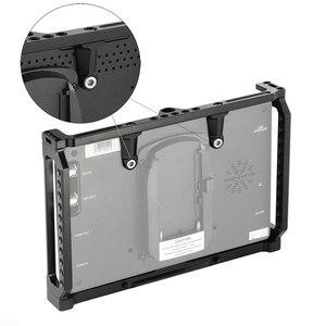 Image 5 - SmallRig 7 Cal Monitor klatka dla Feelworld T7 703 703S i F7S Monitor klatka ochronna z szyną Nato gwintowanie otworów 2233