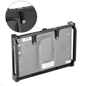 Image 5 - SmallRig 7 Inch Monitor Cage for Feelworld T7 703 703S and F7S Monitor Protective Cage With Nato Rail Threading Holes   2233