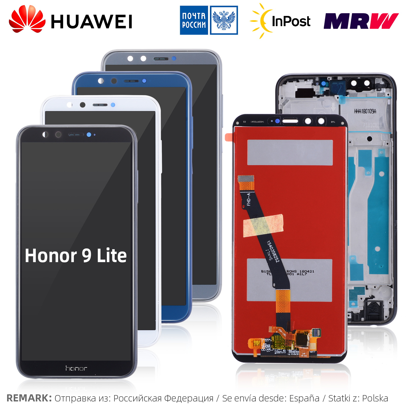 Original For Huawei Honor 9 lite LCD Touch Screen Display For Huawei Honor 9 Lite Display LCD with Frame Digitizer LLD L31(China)