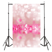 5x7FT Vinyl Photography Backdrop Photo Background Pink Shiny