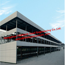 Вертикальный Многоэтажный автоматизированная парковка гараж с смарт двигателя Системы и твердых Сталь Структура кадров Китай поставщика