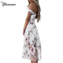 Off shoulder flower print mesh summer dress women Elegant high waist mini dress Slim Waist Swing Cocktail party dresses spring