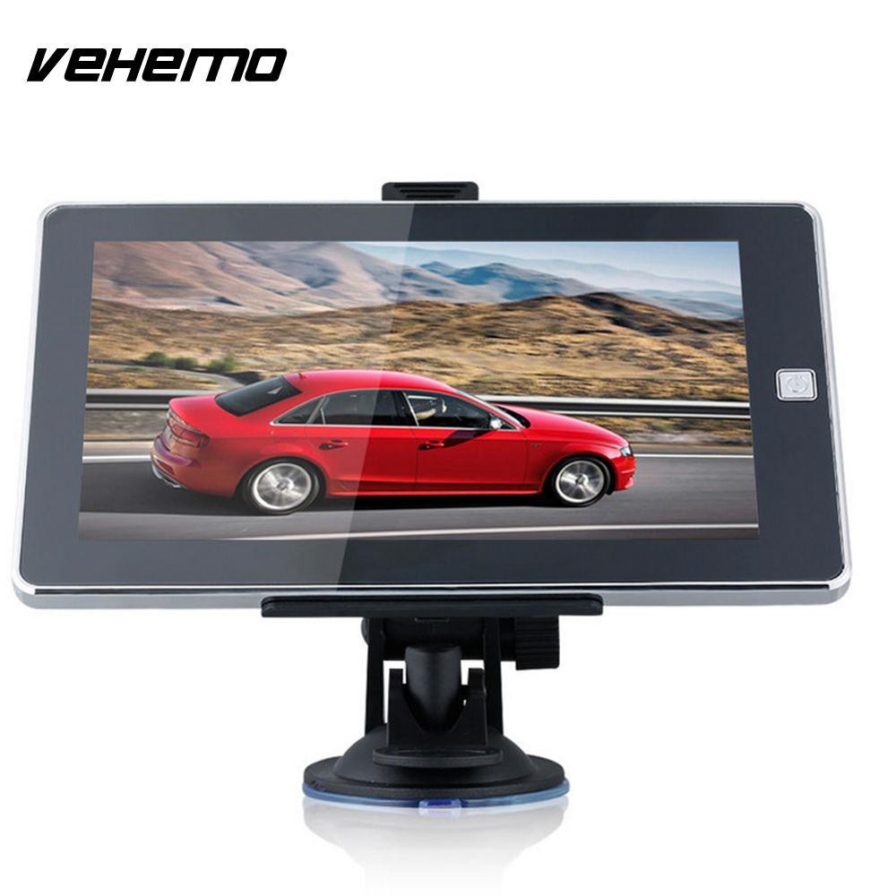 купить Vehemo 8GB 7Inch Smart Premium Car GPS Navigation TFT LCD Automobile Auto Navigator Audio GPS Navigator Universal Video недорого