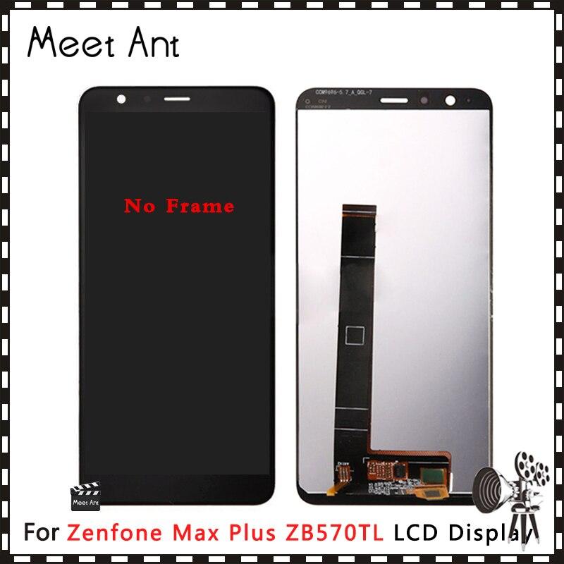 Haute qualité 5.7 ''pour Asus Zenfone Max Plus ZB570TL X018DC écran d'affichage à cristaux liquides avec assemblage de numériseur d'écran tactile