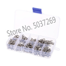 RC Screws Stainless Metal Steel Screw Kit for Traxxas Slash 4x4 Short Truck Off-road RC Car DIY Car Parts Kit Tools heavy duty hardened steel spur gear 54t for traxxas slash 4x4 stampede 4x4 new