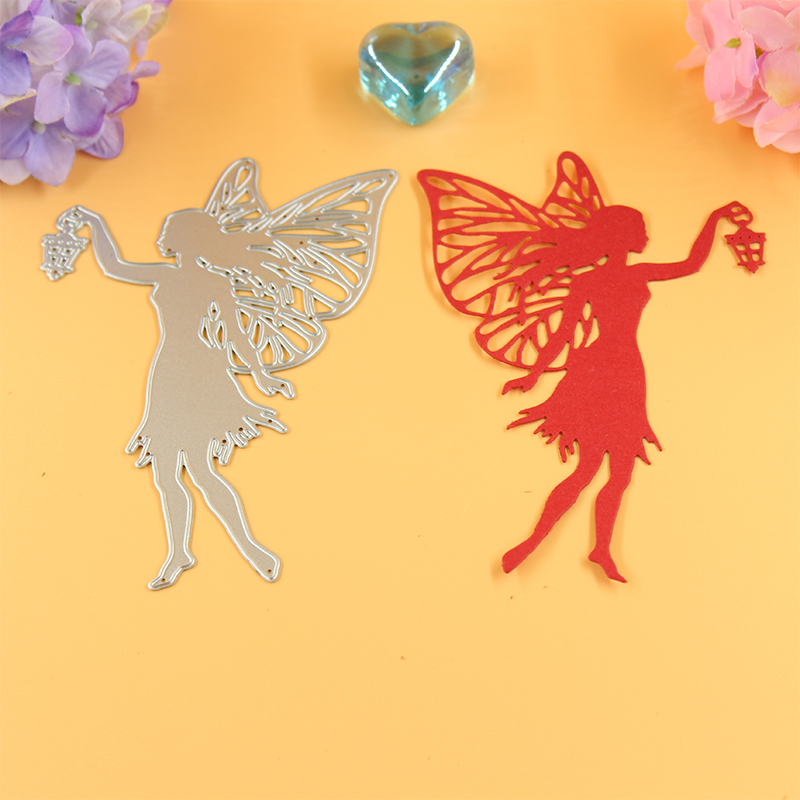 YLCD046 Cutting Metal Girl Dies Untuk Scrapbooking Die Cutter Template DIY Cards Album Decoration Embossing Stencils Folder