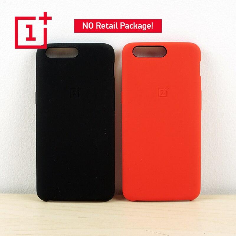 OnePlus 5 de silicona caso de la cubierta protectora del producto Original para A5000 5,5