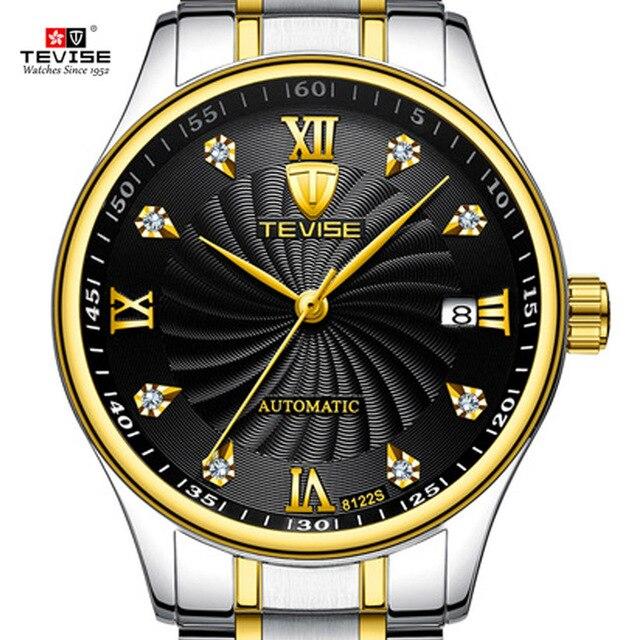 5e34b354b8f67 TEVISE automatique mécanique montres d'affaires robe étanche montre pour  hommes mâle Top marque de