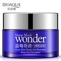 Bioaqua arándanos milagro cara sleep mask whitening Control de aceite hidratante acné cuidado de la cara crema facial 50 g