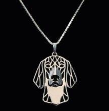 Оптовая продажа ожерелье в стиле бохо с изображением таксы из