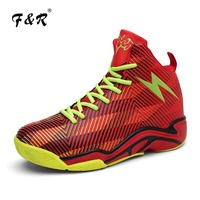 F&R 2018 New Men & Women Basketball Shoes Trainer Athletes Sports Shoes Sneakers Curry Gym Couple Stability Stephen Shoes 36 45