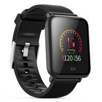 Mesuvida Q9 Blood Pressure Smartwatch (15 Days Work, Message Display, Multi Sport Model, HRM Heart Rate Waterproof Smart Watch