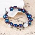 Мода Дружбы браслеты бесплатная доставка оптовая круглый стеклянный шарик растянуть браслеты Чешского бисера браслеты и браслеты