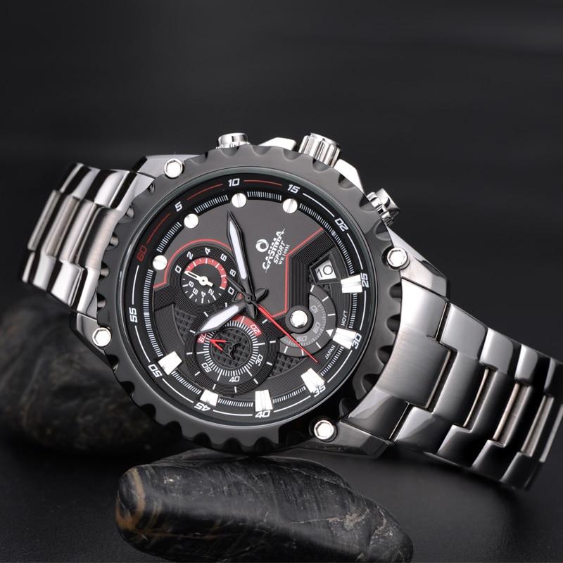 Marca de lujo Sport Men Relojes Moda Charm Mens Movimiento de cuarzo - Relojes para hombres - foto 5