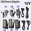 Nouveau adaptateur de transformateur d'alimentation en alimentation LED cc 1A-12.5A 110V 220V à 12V pour bande 5050 3528