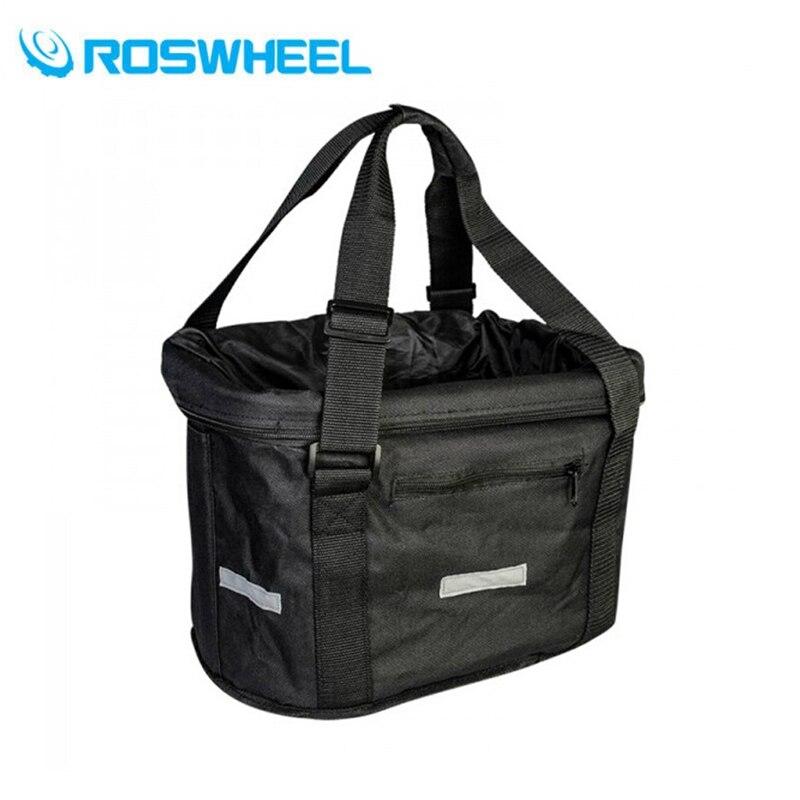 ROSWHEEL étanche 18L VTT panier sacs cadre Pet transporteur sac vtt accessoires