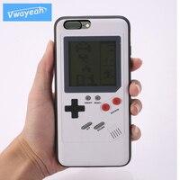Sıcak Retro Tetris Oyun Oynayabilirsiniz Küçük Gameboy Gameboy Blokus Pil Ile ve iPhone Için Perakende Paket Durumda x 10 6 6 s 7 8 artı