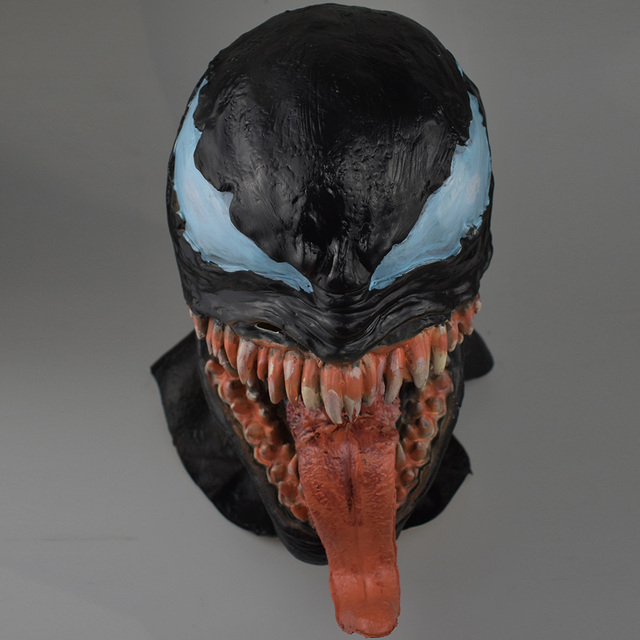 Venom Mask Spider Man Comic Inspired Cosplay One Size For Adult 5