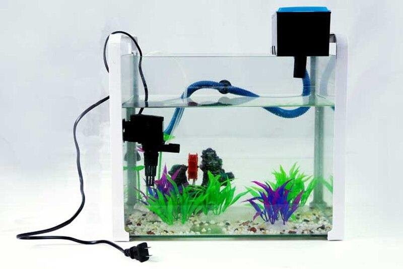 Häufig Top filter kit für länge 40 60 cm aquarium pumpe 12 w 800L/h CP22