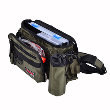 Trulinoya 5 Set 1 Multifunctional Fishing Tackle Set Fishing Bag Waterproof Tackle Lure Box Fish Locks