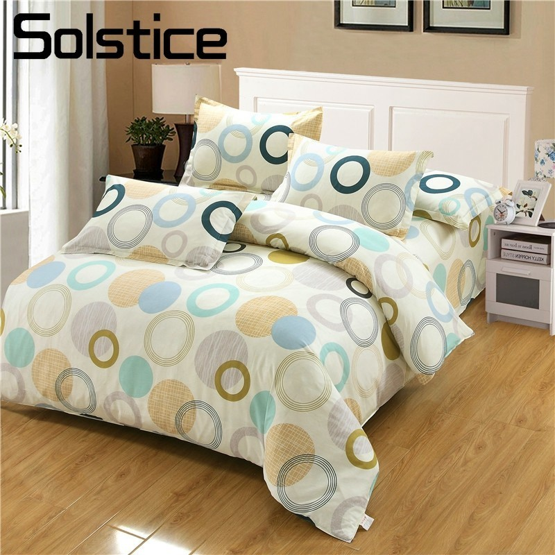 Solstice Home Textile Geometric Pattern Printing Simple Fashion Elegant  Bedding Suit Sets Pillowcase Bed Sheets Duvet Cover In Bedding Sets From  Home ...