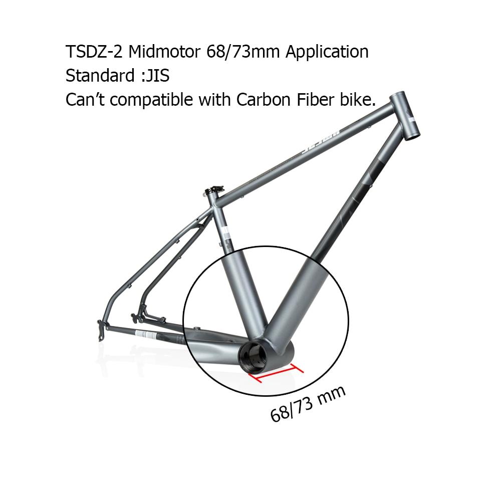 Tongsheng TSDZ2 36V 250W 48V 500W e fahrrad Mitte Stick Motor e-bike Elektro Fahrrad fahrrad Conversion Kit Mit Batterie Funktion