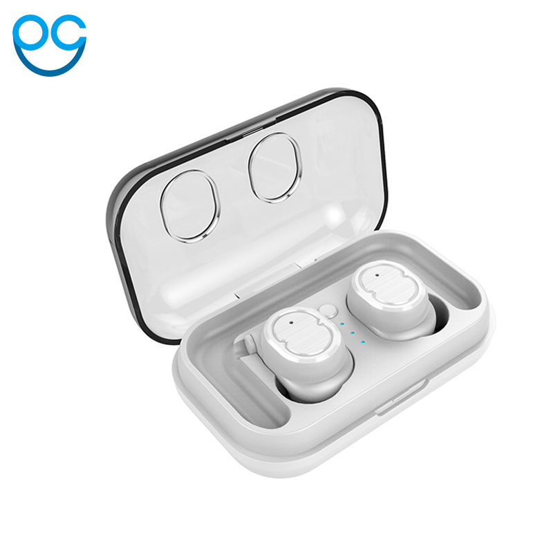 OGV True Wireless Earbuds Hifi V5.0 Bluetooth Earphone TWS Stereo With Mic for iPhone X 8 Samsung Xiaomi Charger Box Earphones stainless steel full window with center pillar decoration trim car accessories for hyundai ix35 2013 2014 2015 24