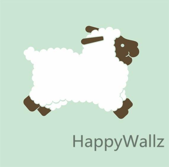 Baby Mobile Sheep And Stars Cot Nursery Decor Baa