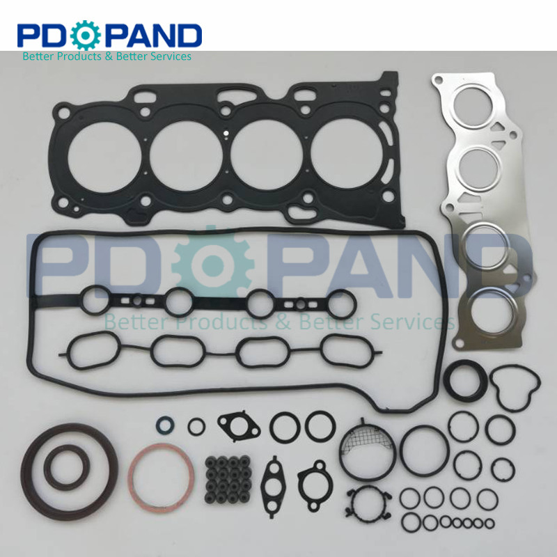 1AZ-FE 1AZ-FSE Overhaul Gasket Kit 04111-28070 for Toyota AVENSIS Allion Vista Wish MVP AURION CALDINA ISIS VOXY 1998cc 2.0L