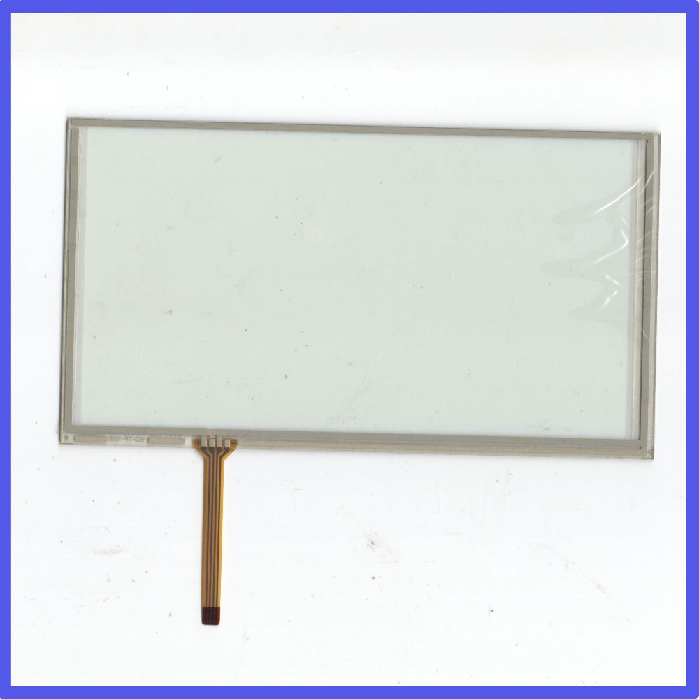 ZhiYuSun for PIONEER JVC KW AVX826 7Inch 4Wire Resistive TouchScreen Panel Digitizer this is compatible For