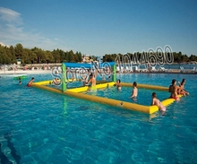 Free shipping 12*6m inflatable volleyball court for sale