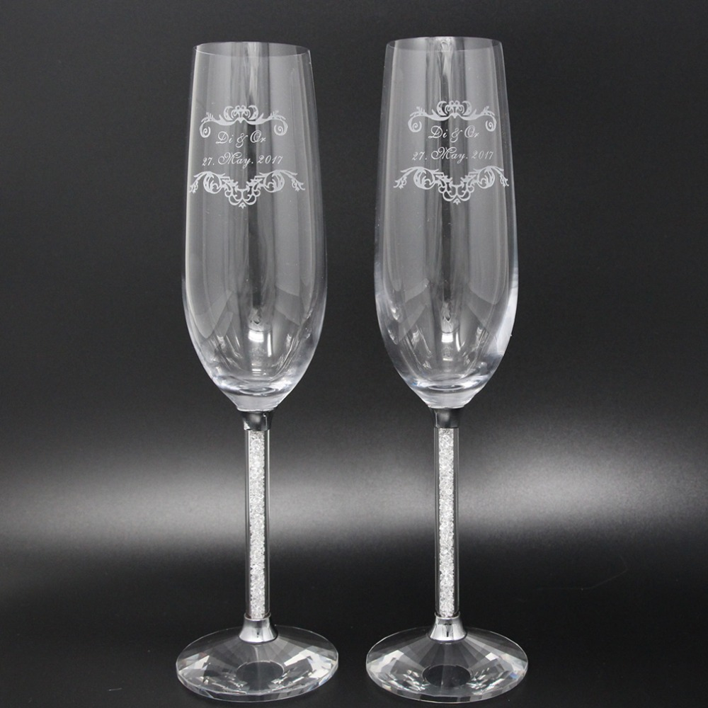Online buy wholesale toasting glasses wedding from china for Buy champagne glasses online