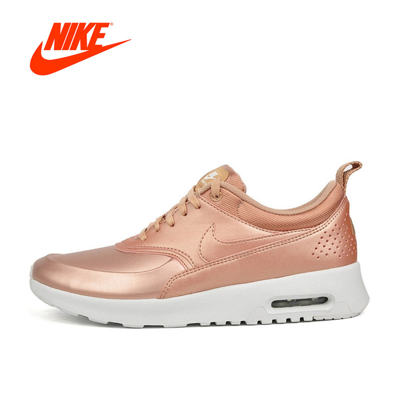 Original New Arrival Authentic Nike Air Max Thea SE Leather-made Waterproof Women's Running Shoes Sports Sneakers Outdoor original nike leather waterproof air max women s running shoes sneakers
