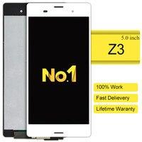 10 יחידות 2015 נדל חדש מגע עצרת Digitizer מסך Lcd עבור Sony Xperia Z3 קידום הגעה החדשה מכירת Freeshipping