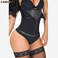 HEXIN Waist Trainer With Zip and Hook Fajas Body Shaper Plus Size Shapewear Slimming Vest Corset Underwear Latex Waist Trainer