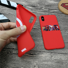 Black Widow film Avengers Marvel case for iphone X XS MAX XR 10 8 7 6 6S plus 5 5s se soft matte phone cover Couple Coque fundas