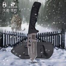 HX на открытом воздухе 440C нож выживания охотничий нож кемпинг инструменты нержавеющая сталь нож тренировочный нож титановая крутая стальная защита