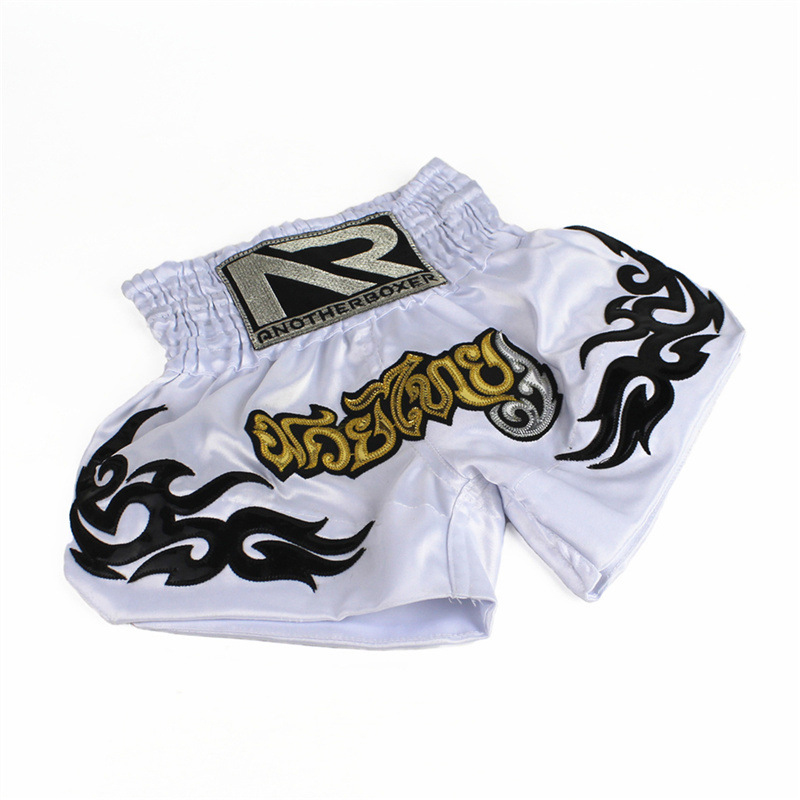 Muay Thai//MMA Shorts For Men and Women Boxing Printed Trunks Sports Shorts NEW