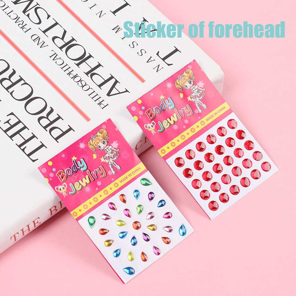 1/5 sztuk sztuki akrylowe naklejki kryształowe zabawki dla dzieci naklejka naklejka na telefon komórkowy/PC diament Rhinestone samoprzylepne naklejki do scrapbookingu