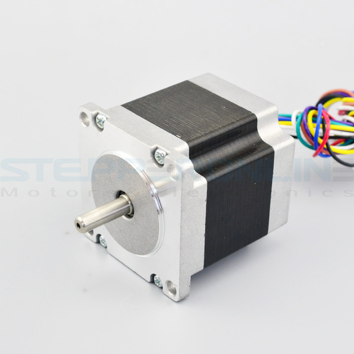 Nema 23 Stepper Motor 1.8deg 3.0A dual shaft stepper motor 1.26Nm CNC motor 8 wires 57x57x56mm for cnc milling machine цены