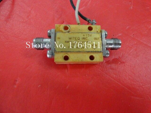 [BELLA] MITEQ AMFK-4F-120180-22-10P-L 15V SMA Amplifier