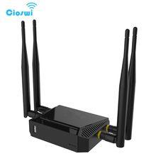 Cioswi высокое Мощность OpenWrt маршрутизатор 4G модем 300 Мбит/с 3g Wi-Fi маршрутизатор с Слот sim-карты и USB Wi-Fi ретранслятор 2. 4G Гц