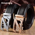 Men's belt Z logo Automatic metal buckle Genuine leather Width 3.5CM Length 110/120/130CM Designers high quality Fashion brand
