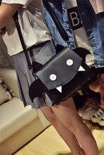 ญี่ปุ่นซอฟท์น้องสาวปีศาจมอนสเตอร์กระเป๋าbangalorแพคเกจX Iekua 2016แฟชั่นใหม่น่ารักน่ารักการ์ตูนกระเป๋า