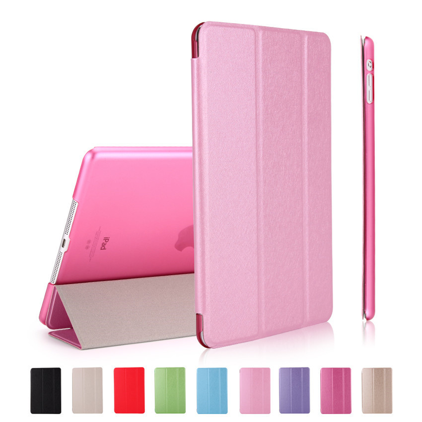 Case For iPad Pro 12.9 Transparent Back PU Leather Ultra Slim Trifold Wake-up Smart Tablet Case For iPad 12.9 Cover Light Weight philips hf350570 wake up light световой будильник